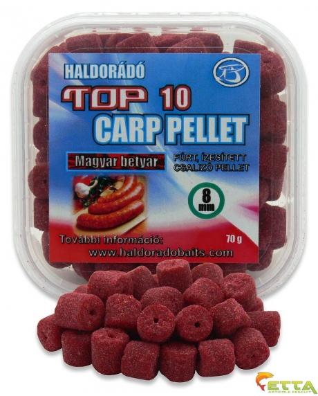Haldorado Top 10 Carp Pellet - Haiduc Unguresc 70g 0