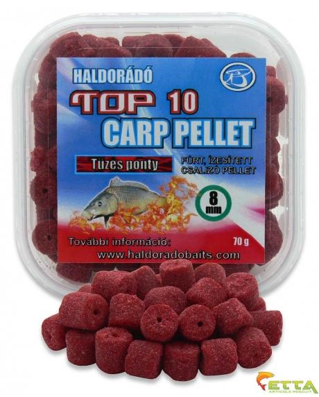 Haldorado Top 10 Carp Pellet - Crap Apa Calda 70g 0