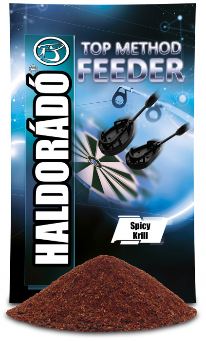 Haldorado TOP Method Feeder - Spicy Krill 800g 0
