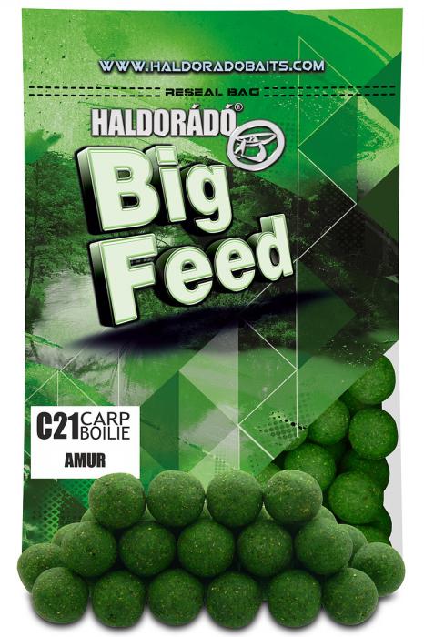 Haldorado Big Feed - C21 Boilie - Capsuna & Ananas 0.8kg, 21 mm [5]