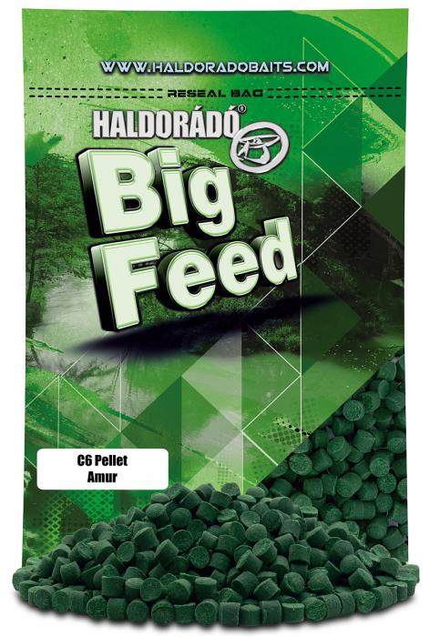 Haldorado Big Feed - C6 Pellet - Capsuna & Ananas 0.9kg, 6 mm 5