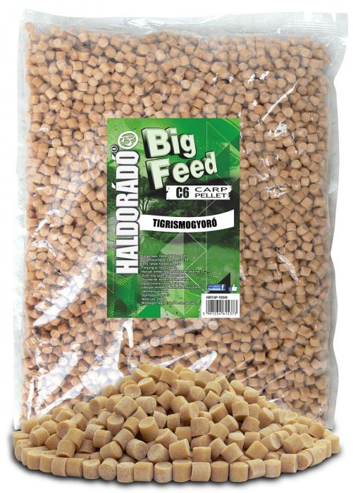 Haldorado Big Feed - C6 Pellet - Capsuna & Ananas 2.5kg, 6 mm 6