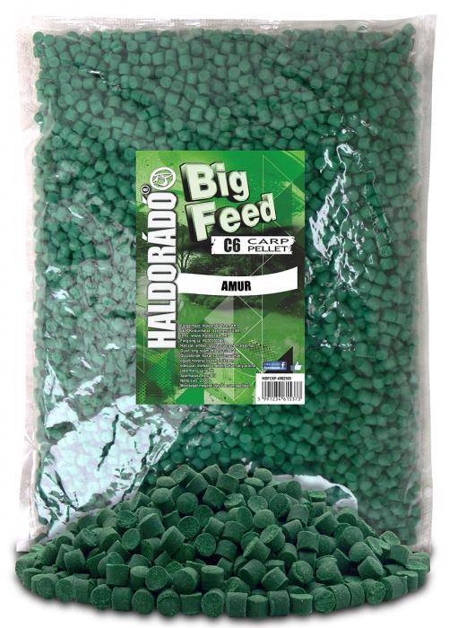 Haldorado Big Feed - C6 Pellet - Capsuna & Ananas 2.5kg, 6 mm 5