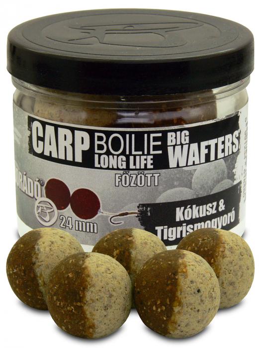 Haldorado Carp Boilie Big Wafters - Black Squid - 70g/24mm [8]