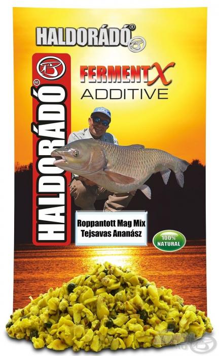 Haldorado - FermentX Additive - Amestec de seminte crocante fermentate - Ananas 350g [0]