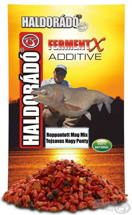 Haldorado - FermentX Additive - Amestec de seminte crocante fermentate - Ananas 350g [1]