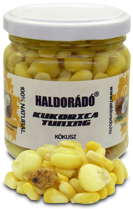Haldorado Kukorica Tuning (porumb cu zeama) - Amur l'amur 130g 3