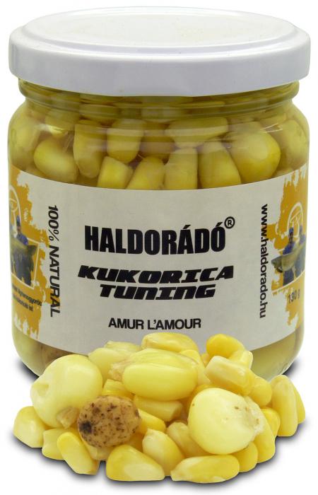 Haldorado Kukorica Tuning (porumb cu zeama) - Amur l'amur 130g 1