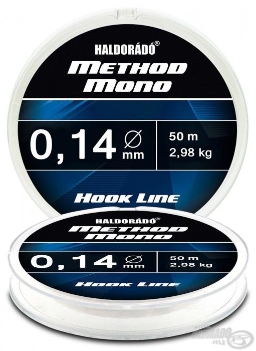 Haldorado Method Mono Hook Line - 0.14 - 2.98kg 0