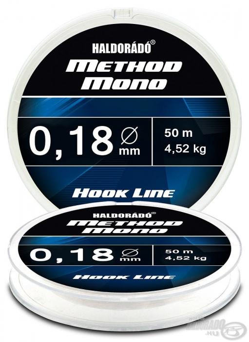 Haldorado Method Mono Hook Line - 0.12 - 2.32kg 2