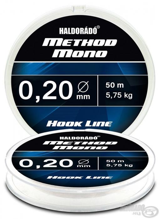 Haldorado Method Mono Hook Line - 0.20 - 5.75kg 0
