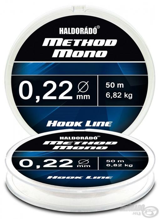 Haldorado Method Mono Hook Line - 0.12 - 2.32kg 1
