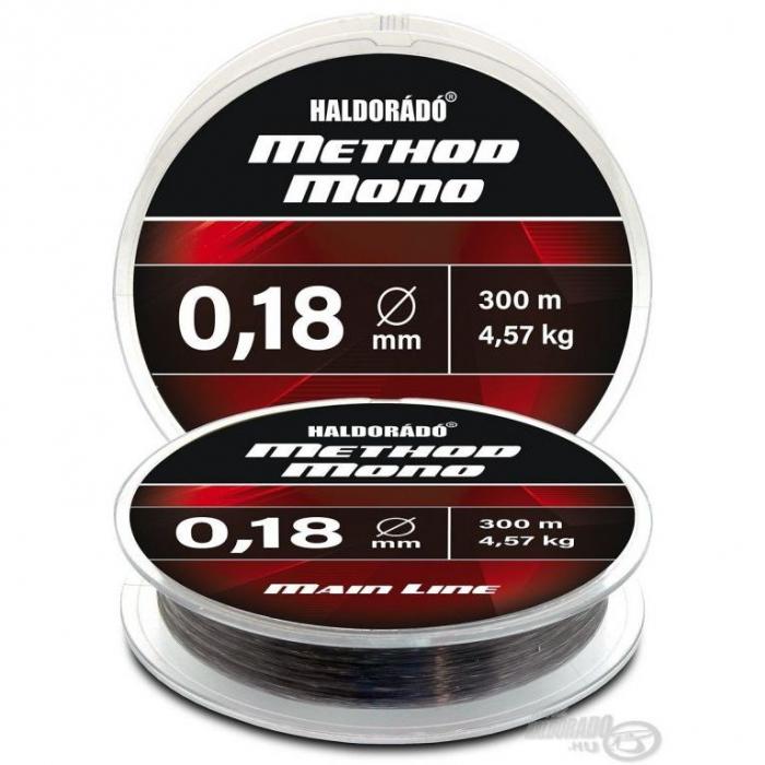 Haldorado Fir Method Mono Main Line 300m - 0,18mm, 4.57kg 1