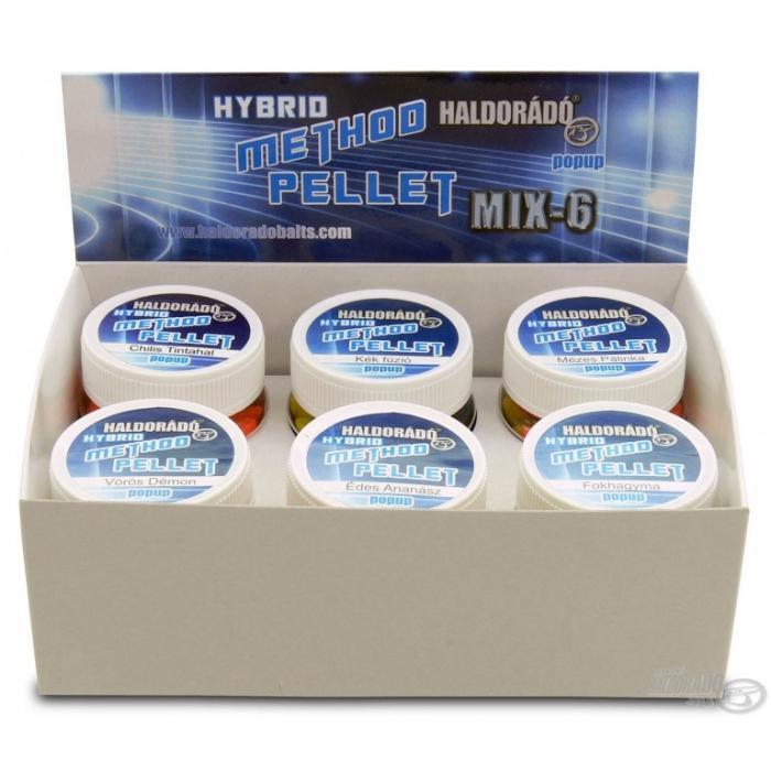 Haldorado Hybrid Method Pellet - Chili & Squid 1