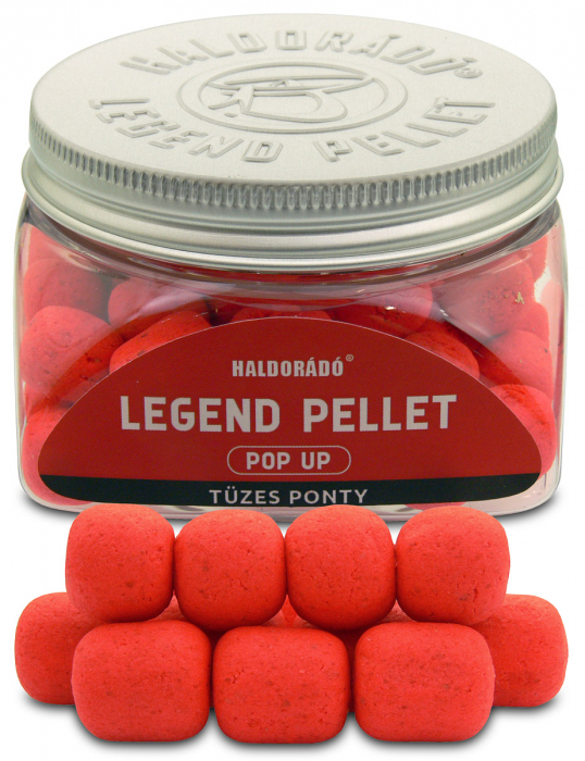 Haldorado Legend Pellet Pop Up - Ananas dulce 12, 16mm  50g 1