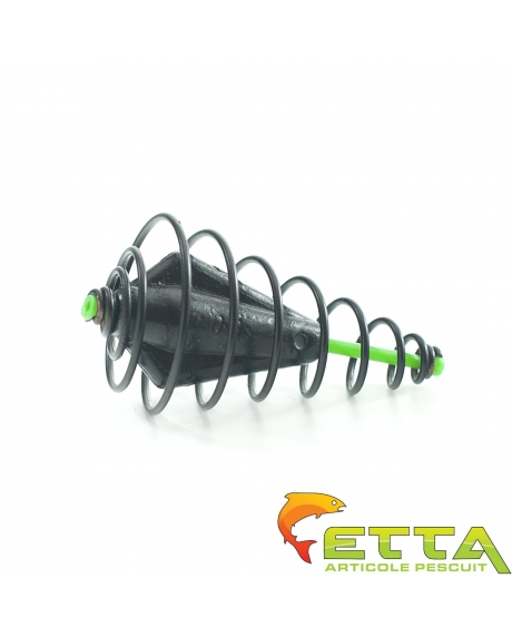 Momitor spirala culisant cu plumb ecologic 20g 0