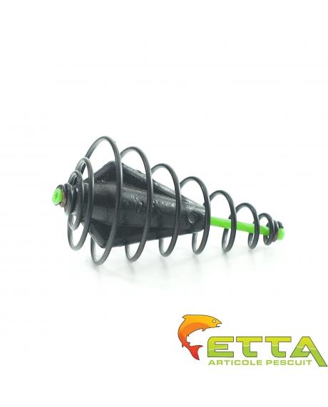 Momitor spirala culisant cu plumb ecologic 60g 0