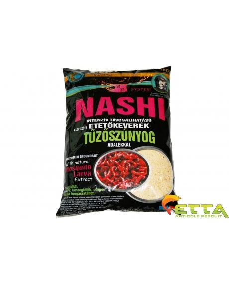 Cukk Nashi 1kg (cu larve de libelula si puffi miere mic) 0