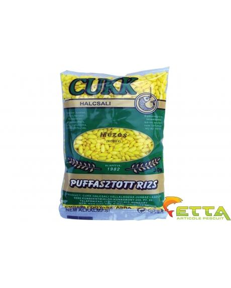 Cukk Orez expandat - Galben (miere) 30g 0