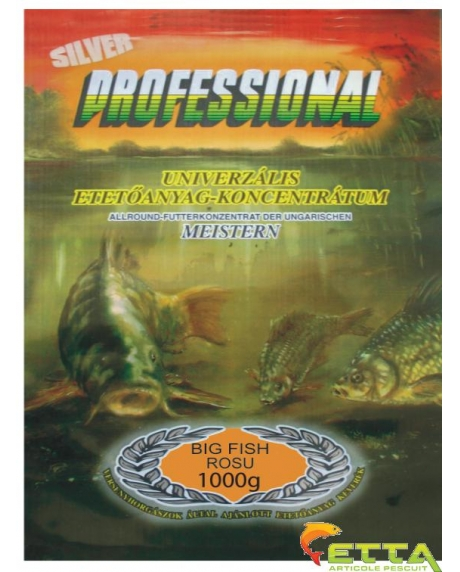 Professional Silver - Big fish rosu 1Kg 0