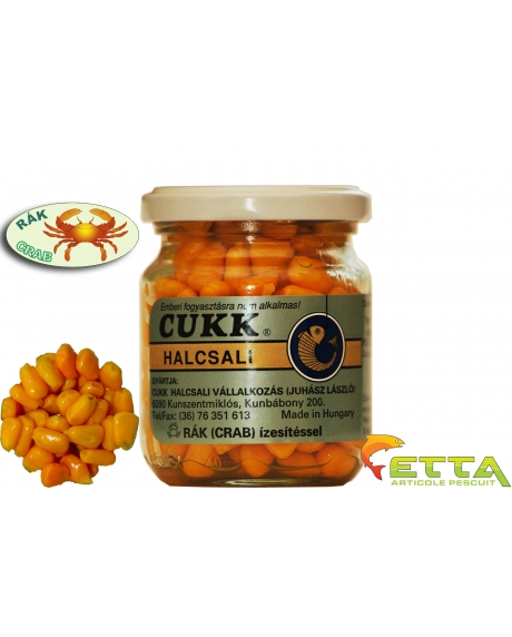 Cukk Porumb borcan fara zeama - Rac (portocaliu) 220ml 0