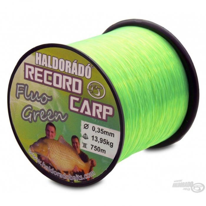 Haldorado Record Carp Fluo Green 0,30mm/800m - 10,85kg 1