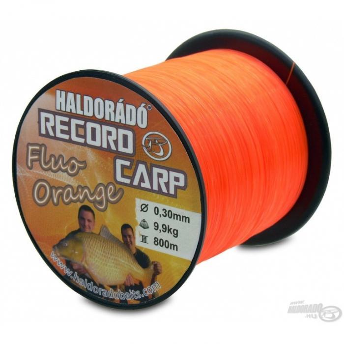 Haldorado Record Carp Fluo Orange 0,30mm/800m - 9,9kg 0
