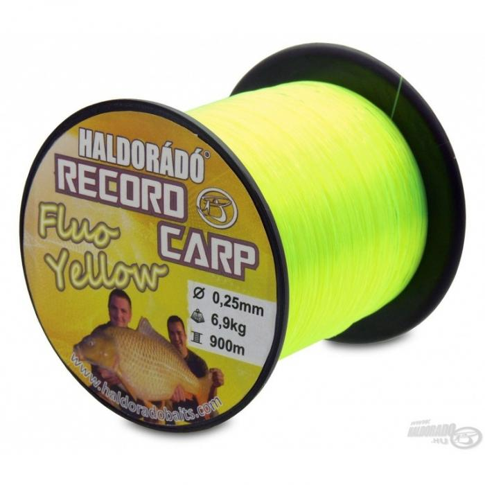 Haldorado Record Carp Fluo Yellow 0,22mm/900m - 5,8kg 0