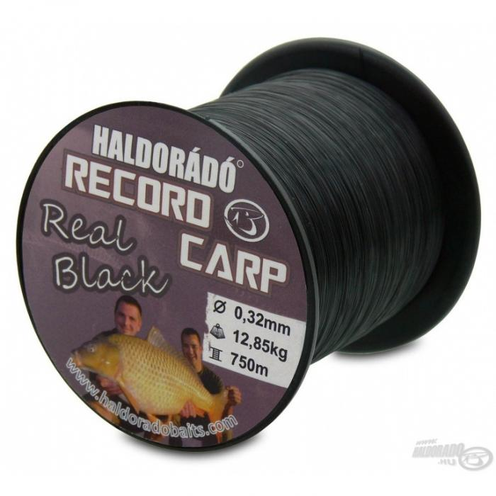 Haldorado Record Carp Real Black 0,32mm/750m - 12,85kg 0