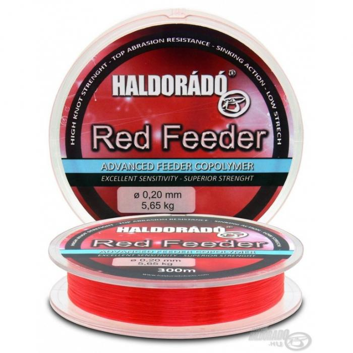 Haldorado Red Feeder 0.18mm/300m - 4,55kg 0