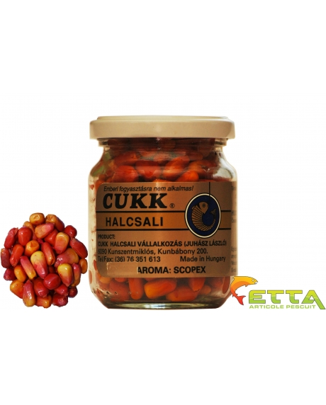 Cukk Porumb borcan fara zeama - Larve de tantari (roz) 220ml 5
