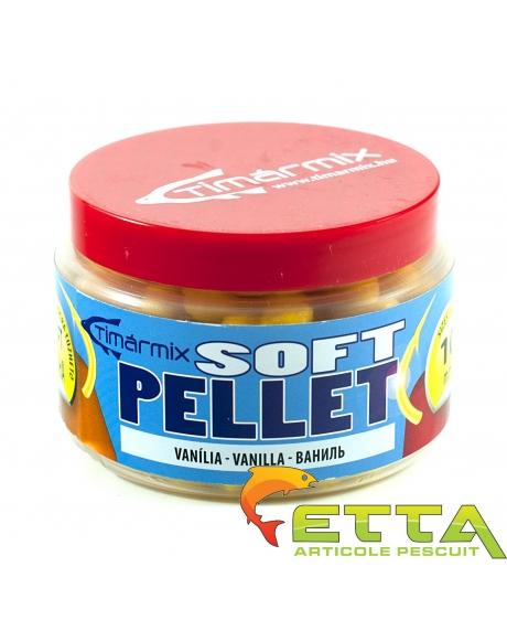 Timar Fluo Soft Pellet - Vanilie 50g 8mm 0