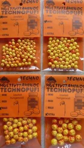 Technomagic Technopufi Natur (alb) mini 45