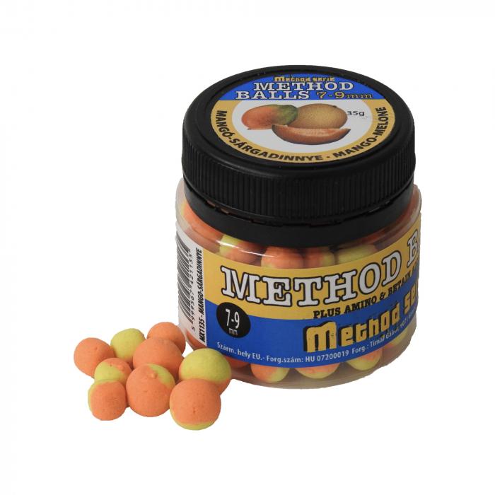 Timar Method Balls 35gr - Mango + Pepene Galben 7-9 mm 0