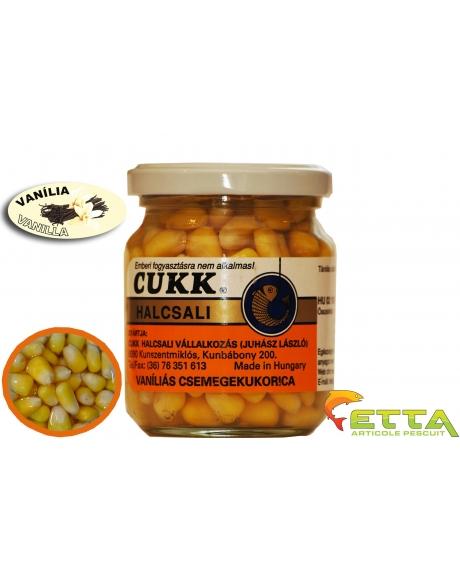Cukk Porumb borcan cu zeama - Vanilie 220ml 0