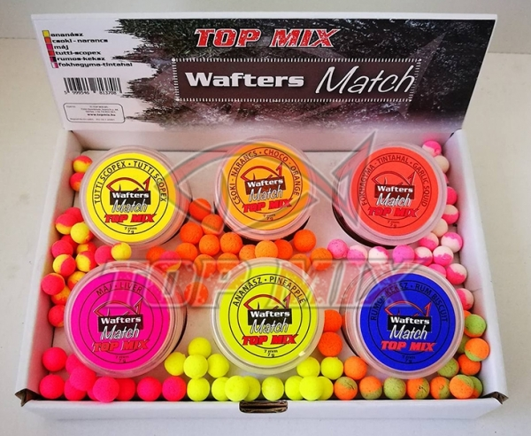 Top Mix Wafters Match 7mm - Ananas 0