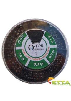 Q-tor Set plumbi diferite dimensiuni nr. I. alice taiate rotunde mici 0,1-0,5g1