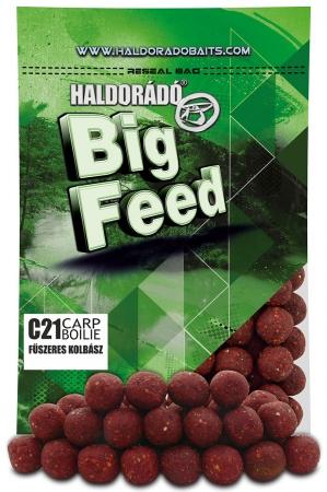 Haldorado Big Feed - C21 Boilie - Capsuna & Ananas 0.8kg, 21 mm [3]