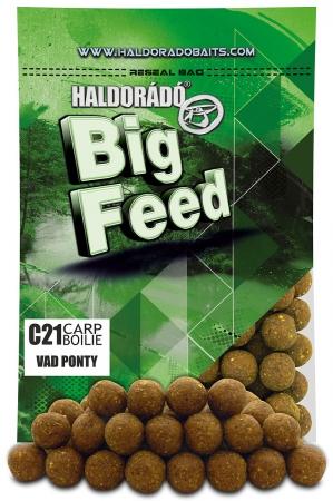 Haldorado Big Feed - C21 Boilie - Capsuna & Ananas 0.8kg, 21 mm [0]