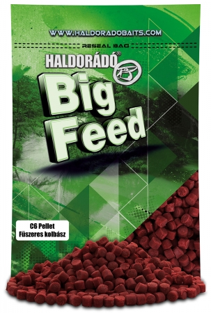 Haldorado Big Feed - C6 Pellet - Capsuna & Ananas 0.9kg, 6 mm4