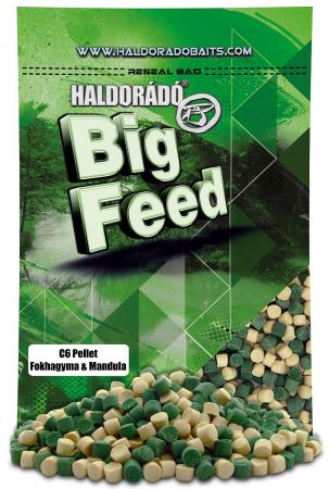 Haldorado Big Feed - C6 Pellet - Capsuna & Ananas 0.9kg, 6 mm2