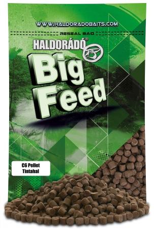 Haldorado Big Feed - C6 Pellet - Capsuna & Ananas 0.9kg, 6 mm0