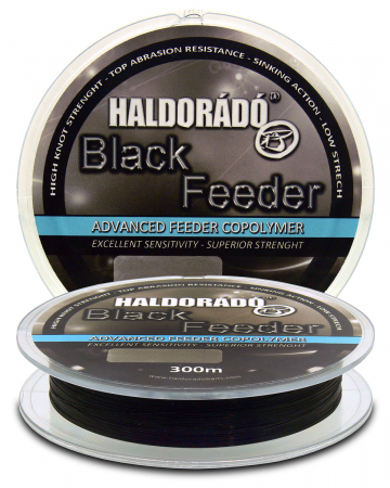 Haldorado Black Feeder 0.18mm/300m - 4.55kg4