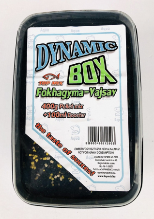 Top Mix Dynamic Pellet Box  - Squid 400g+100ml aroma2