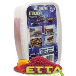 Haldorado Fluo Micro Method Feed Pellet - Brutal Liver - 400g5