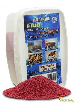 Haldorado Fluo Micro Method Feed Pellet - Brutal Liver - 400g0