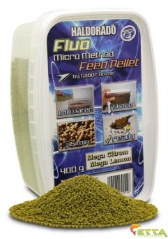 Haldorado Fluo Micro Method Feed Pellet - Brutal Liver - 400g2