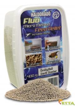 Haldorado Fluo Micro Method Feed Pellet - Brutal Liver - 400g1