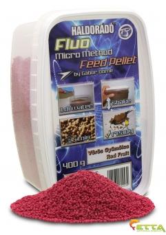 Haldorado Fluo Micro Method Feed Pellet - Brutal Liver - 400g4