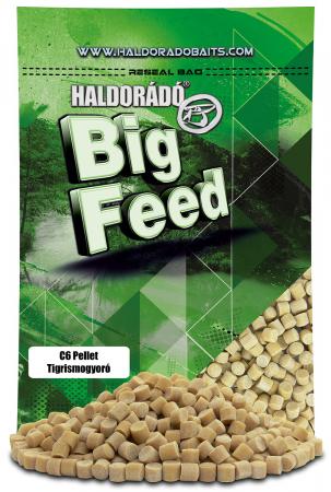 Haldorado Big Feed - C6 Pellet - Capsuna & Ananas 0.9kg, 6 mm6